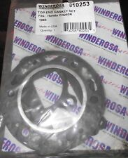 HONDA CR250R  TOP ENDCASKETS  1985   (NEW BUT OLD STOCK)