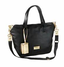 Versace Black & Gold Zipped Tote / Shopper / Beach / Hand Bag with Purse