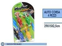 ds 4 Macchinine Auto Racing Power Colorate Giocattolo Gioco Bimbi Bambini moc