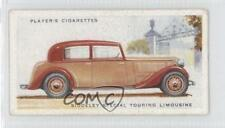 1937 Player's Motor Cars Series 2 41 Siddeley Special Touring Limousine Card 2wk