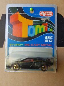Tomica #F50 - LAMBORGHINI COUNTACH LP500S [BLACK] AUSTRALIA BLISTER CARD