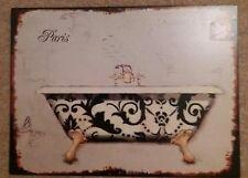 Pears Soap Rétro Replica Style Vintage métal étain signe Cadeau Salle De Bain