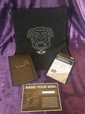 Mini Cooper Bulldog Drawstring Backpack, Journal, Fundamentals Of Good Motoring