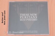 These New Puritans – Beat Pyramid Numerology - 16 tr Boitier neuf CD maxi promo
