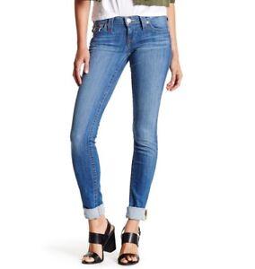 NWT $200 True Religion Brand Jeans Denim Azalea Skinny Leg Pants Women's Size 24