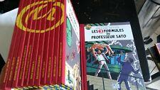 Blake et Mortimer - 12 tomes dos toilés édités par Le Monde - Comme Neuf