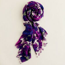 Pure Wool Pashmina Women Scarves Wraps Shawl Purple Olive White Mothers Day Gift
