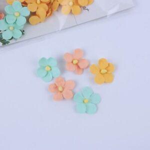 Mini Flowers Mix Pastels 60pcs Crafts Card Embellishments FL004