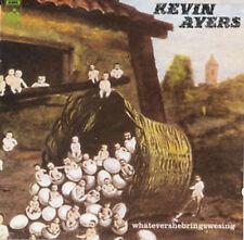 new/sealed CD:   Kevin Ayers - Whatevershebringswesing -- prog 646315719024