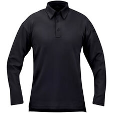 Propper I.C.E. Mens Performance Long Sleeve Polo Tactical Police Style LAPD Navy