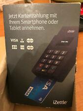 iZettle Card Reader V2 Black Terminal, selber Kreditkarten abrechen, Neu & OVP