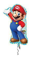 "Nintendo Super Mario Supershape Balloon 22""x33"" Birthday Party Decoration"