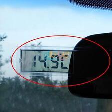 Durevole Mini Digitale LCD Auto Parabrezza Interno Termometro Aspirazione Coppa