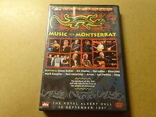 MUSIC DVD / MUSIC FOR MONTSERRAT (JIMMY BUFFETT, ERIC CLAPTON, PAUL MCCARTNEY..)