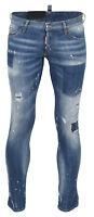 """""""Men's Dsquared D2 Clement Jeans"""" S74LB0320 DENIM BLAU GR 54 NEU*65509"""
