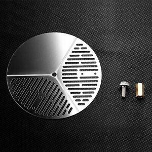 Universal Stainless Steel Spare Tire Cover Parts for Trx-4RR10 90046 1/10 RC Car