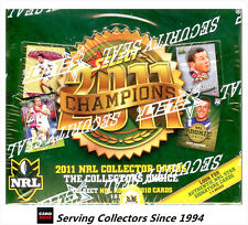 FACTORY BOX!! Select 2011 NRL CHAMPIONS TRADING CARD BOX (36 Packs)