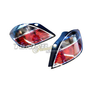 Original Valeo Rear Lights Set IN Black For Opel Astra H OPC Gsi Irmscher