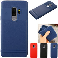 Ultra-thin PU Leather Back Skin Case Cover For Samsung Huawei Xiaomi OPPO VIVO