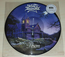 LP KING DIAMOND - THEM - PICTURE DISC - NUOVO NEW