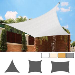 Outdoor Sun Shade Sail Garden HDPE Patio Sunscreen Awning 90% UV Block Protect