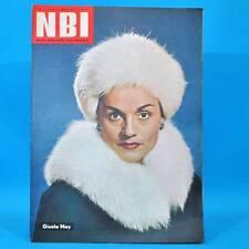 NBI 11/1962 DDR Gisela May Flax Krümel Struppi Winterbahn Ekuador Frankreich