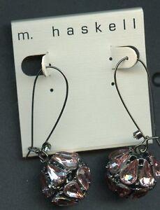 m. haskell Drop Earrings Shiny