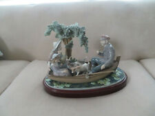 """lladro figurines collectibles, """"On the Lake"""", #5216"""