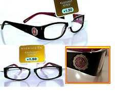 2 Pair +1.50 Magnivision Foster Grant Elizabeth Purple Reading Glasses MSRP:$52