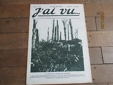 JOURNAL J AI VU tome 25  8 mai 1915 preuve d un mensonge allemand  photos