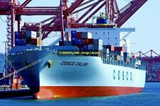 ap1081 - Container Ship - Cosco Dalian , built 2005 - photo 6x4