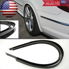 """1 Pair 47"""" Black Flexy Arch Wide Body Fender Flares Extension Lip Guard For Ford"""