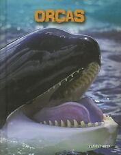 Orcas (Living in the Wild: Sea Mammals)-ExLibrary