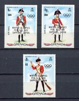 25428A) Grenada 1972 MNH New Uniforms Ovptd Olympic