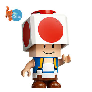 Lego Super Mario 'Toad' Buildable Minifigure (mar0010) + Scanner Code 71368