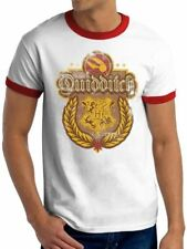Harry Potter - Quidditch Ringer T Shirt - NEW & OFFICIAL