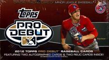 2012 Topps Pro Debut Baseball - Pick A Player