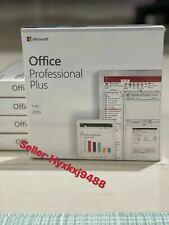 Microsoft Office 2019 Professional Plus Retail DVD for Windows 10, 1 PC