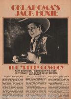 OK Reel Cowboy, Jack Hoxie*+ Silent Movie Film Star History e Faboulous Index