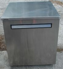 Delfield Compact Stainless Frigerator 5.7 Cubic Ft Casters Model 406-Ca 01001010