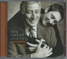 Tony Bennett & K.D. Lang - A Wonderful World (CD 2002) NEW