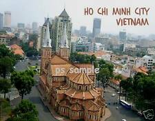 Vietnam HO CHI MINH CITY - Travel Souvenir Flexible Fridge Magnet