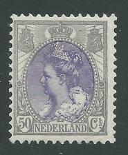 1899TG Nederland Koningin Wilhelmina  Bontkraag NR.75 postfris mooi zegel!