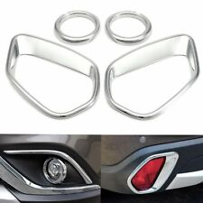 Chrome Front Rear Fog Light Lamp Cover Trim For MITSUBISHI Outlander 2016 2017
