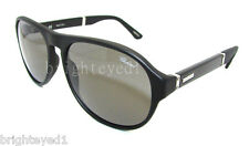 Authentic CHOPARD Polarized Matte Black Sunglasses SCH 134 - 703P *NEW*
