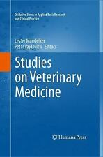 Studies on Veterinary Medicine (2011, Hardcover)