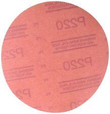 3m 3M-1221 Red Abrasive Hookit Disc, 6 In, P220, 50 Discs Per Box