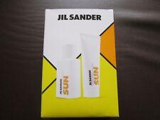JIL Sander SUN Geschenkset EAU DE TOILETTE & BODY/HAIR SHAMPOO NEU & OVP