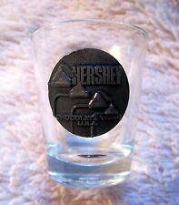BEAUTIFUL - HERSHEY - CHOCOLATE TOWN USA - HERSHEY KISS - SHOT GLASS -GREAT GIFT