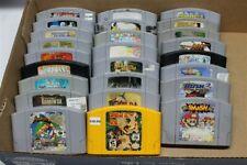 Discounted Nintendo 64 Lot Of 25 Games - Donkey Kong 64, Mario Kart, Castlevania